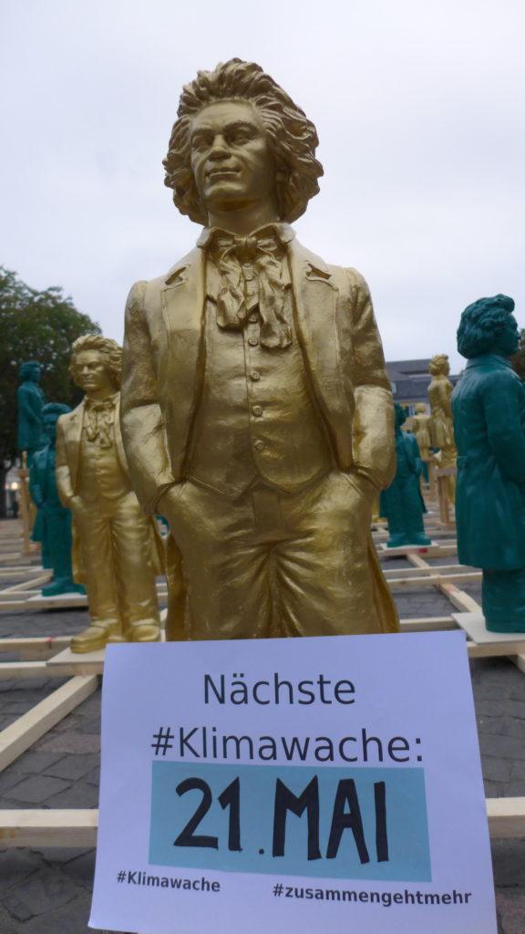 Beethoven-Statuen auf dem Bonner Münsterplatz