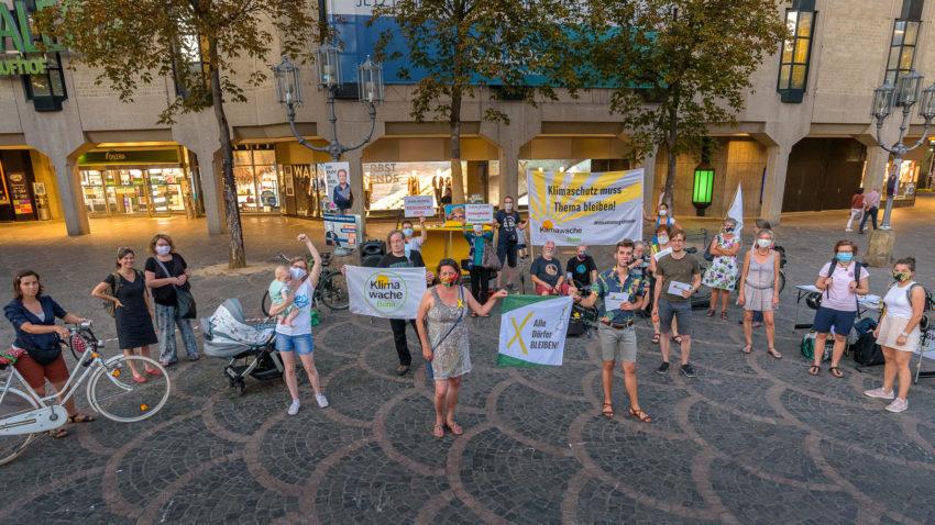 Gruppenfoto der September-Klimawache