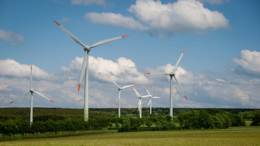 Windkraftanlagen in der Eifel